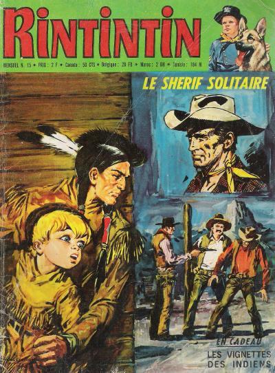 Rintintin et Rusty 15 - Le shérif solitaire