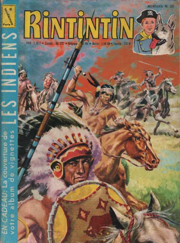 Rintintin et Rusty 20 - Les indiens
