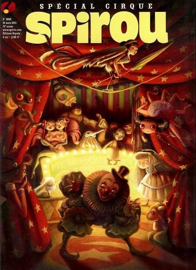 Le journal de Spirou 3805 - Spécial cirque