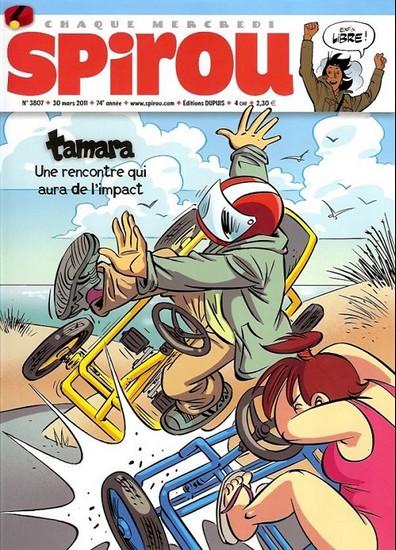 Le journal de Spirou 3807 - 3807