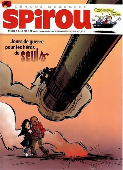 Le journal de Spirou 3808 - 3808