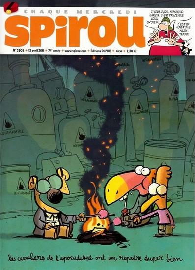Le journal de Spirou 3809 - 3809