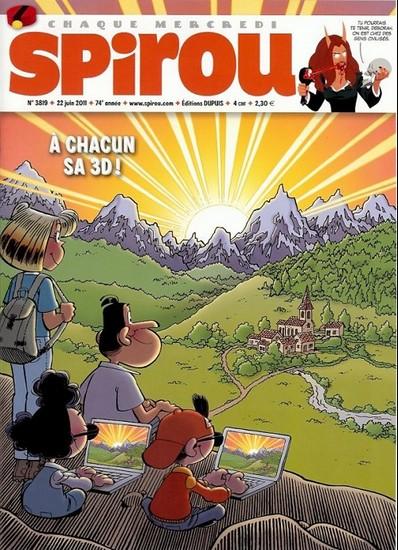 Le journal de Spirou 3819 - 3819