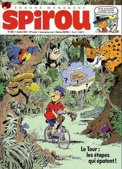 Le journal de Spirou 3821 - 3821