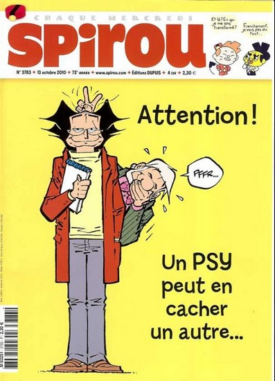 Le journal de Spirou 3783 - 3783