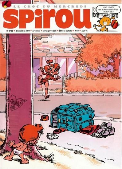 Le journal de Spirou 3786 - 3786