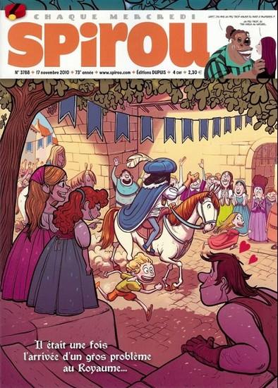 Le journal de Spirou 3788 - 3788