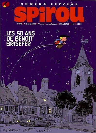 Le journal de Spirou 3792 - Les 50 ans de Benoit Brisefer