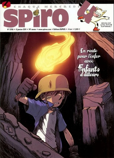 Le journal de Spirou 3795 - 3795