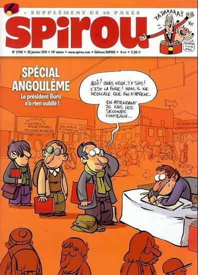 Le journal de Spirou 3798 - 3798
