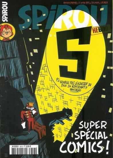 Le journal de Spirou 3613 - Super spécial comics !