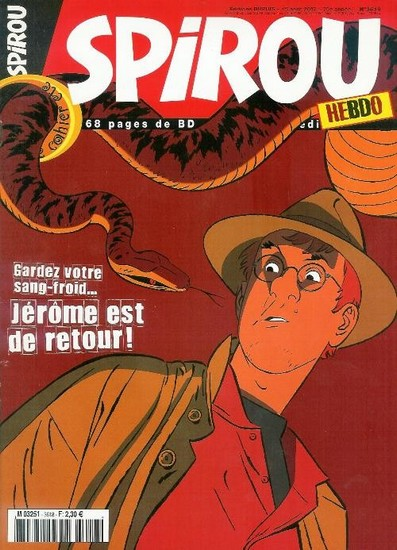 Le journal de Spirou 3618 - 3618