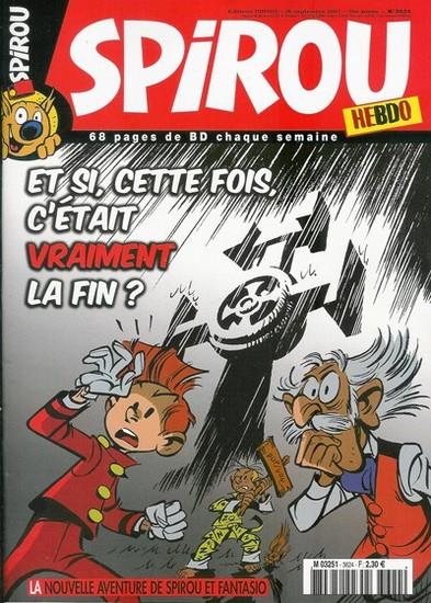 Le journal de Spirou 3624 - 3624