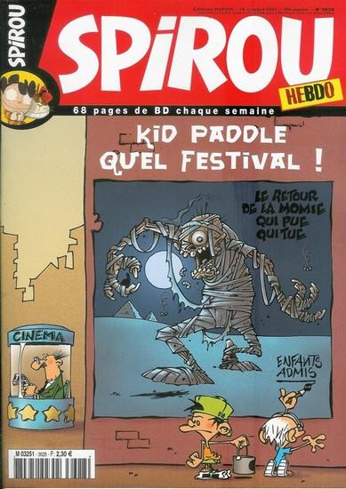Le journal de Spirou 3628 - 3628