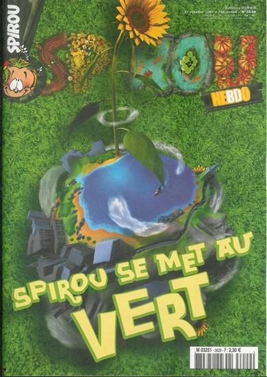 Le journal de Spirou 3629 - Spirou se met au vert