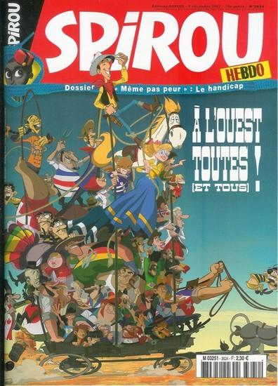 Le journal de Spirou 3634 - 3634