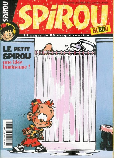 Le journal de Spirou 3636 - 3636
