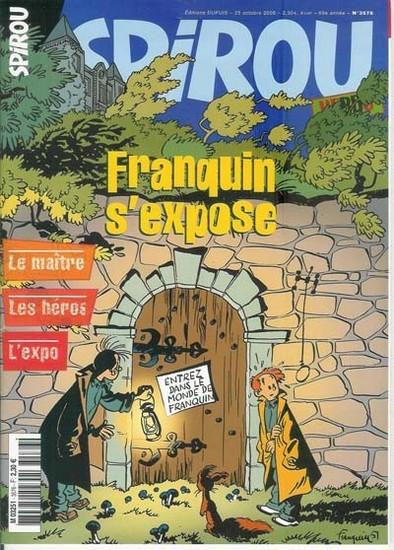 Le journal de Spirou 3576 - Franquin s'expose