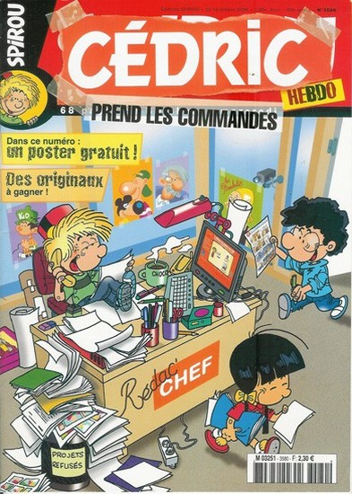 Le journal de Spirou 3580 - 3580
