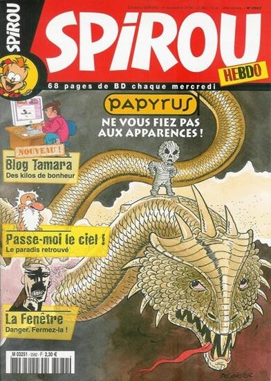 Le journal de Spirou 3582 - 3582