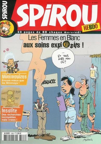 Le journal de Spirou 3583 - 3583