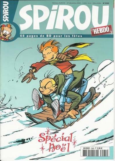 Le journal de Spirou 3585 - Spécial Noël