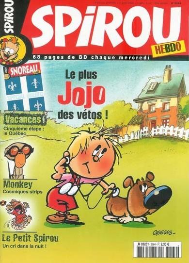 Le journal de Spirou 3564 - 3564