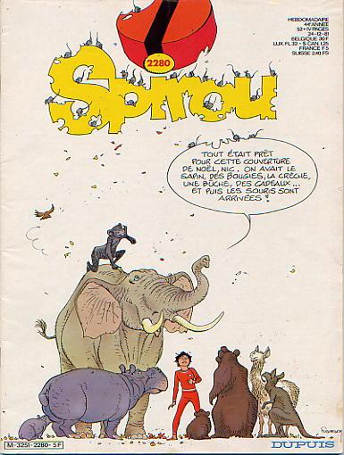 Le journal de Spirou 2280 - 2280