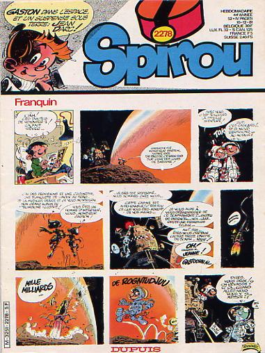 Le journal de Spirou 2278 - 2278