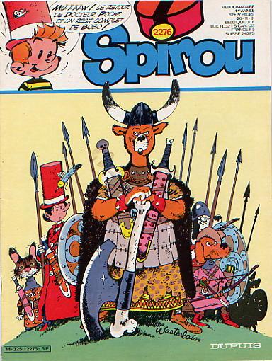 Le journal de Spirou 2276 - 2276