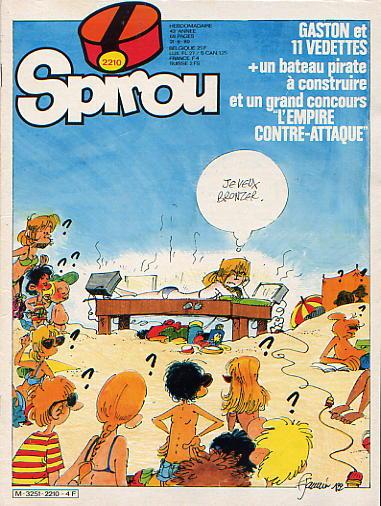Le journal de Spirou 2210 - 2210