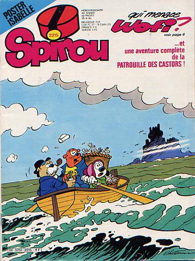Le journal de Spirou 2215 - 2215