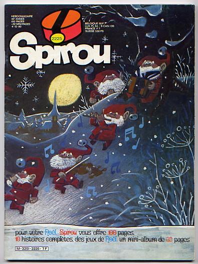 Le journal de Spirou 2225 - Spécial Noël