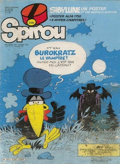 Le journal de Spirou 2181 - 2181
