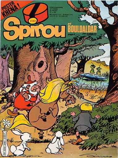 Le journal de Spirou 2187 - 2187
