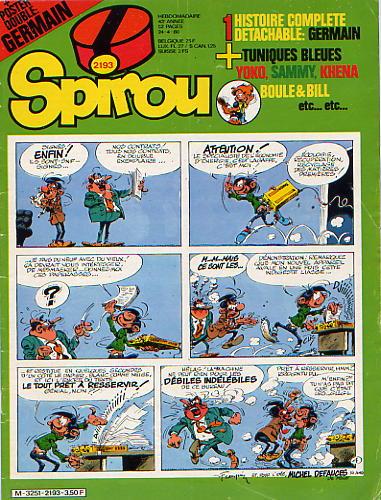 Le journal de Spirou 2193 - 2193