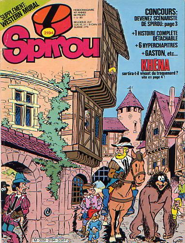 Le journal de Spirou 2194 - 2194