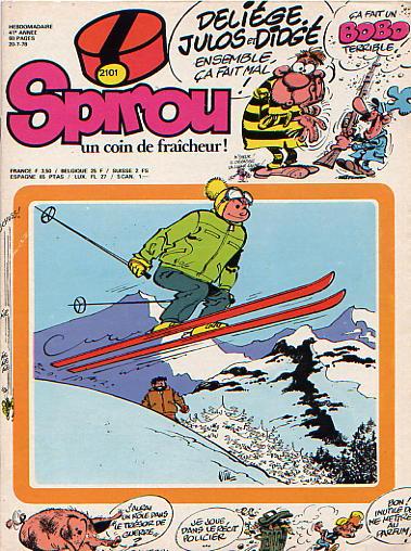 Le journal de Spirou 2101 - 2101