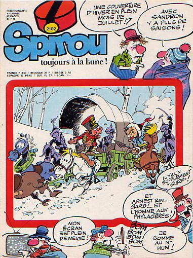 Le journal de Spirou 2102 - 2102