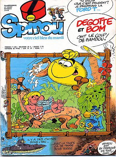 Le journal de Spirou 2103 - 2103