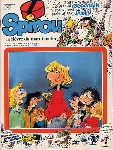 Le journal de Spirou 2119 - 2119