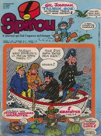 Le journal de Spirou 2120 - 2120