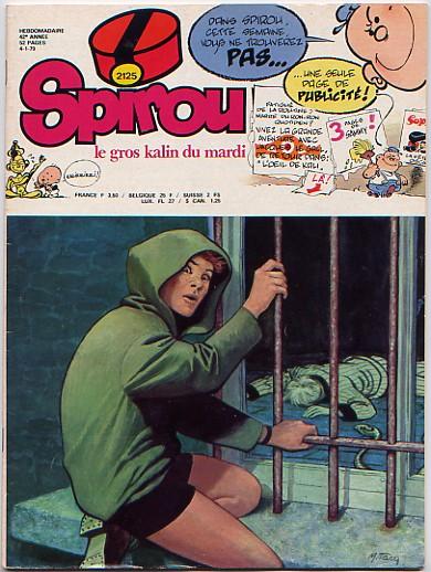 Le journal de Spirou 2125 - 2125