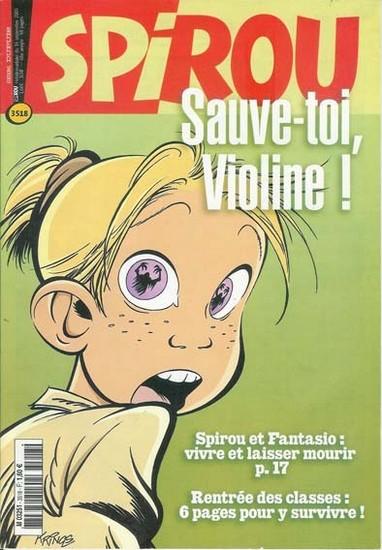 Le journal de Spirou 3518 - 3518