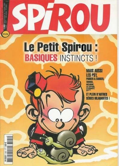 Le journal de Spirou 3521 - 3521