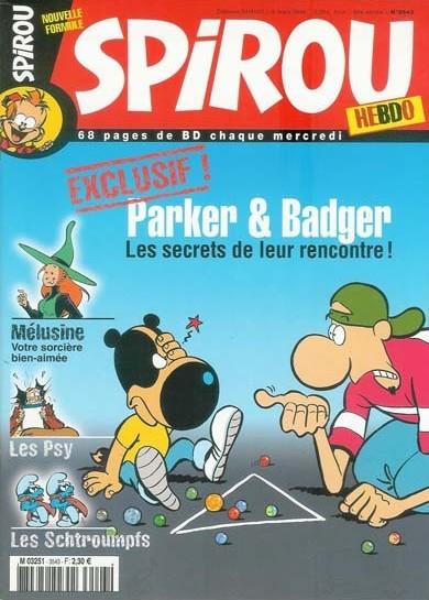 Le journal de Spirou 3543 - 3543
