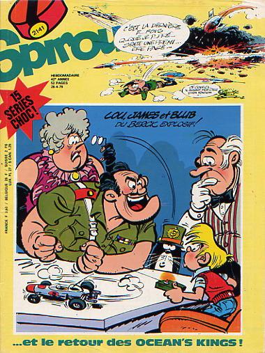 Le journal de Spirou 2141 - 2141