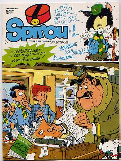 Le journal de Spirou 2145 - 2145