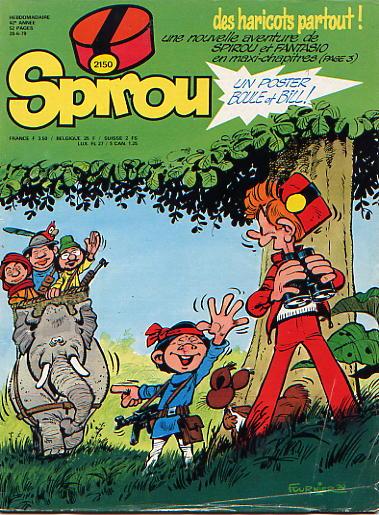 Le journal de Spirou 2150 - 2150