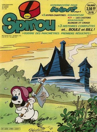 Le journal de Spirou 2180 - 2180